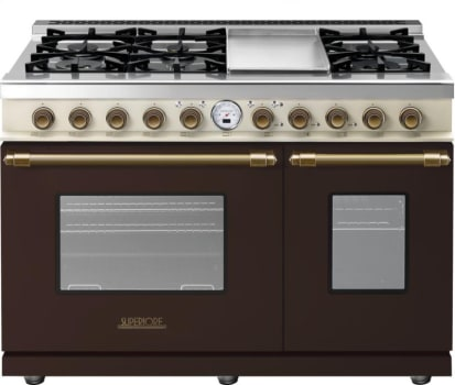 Superiore Deco Series RD482SCMCB - Brown with cream panel and bronze accents