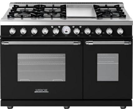 Superiore Deco Series RD482SCNC - Black matte chrome accents