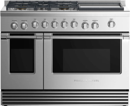 Fisher & Paykel Professional RDV2485GDLN - Front View