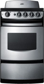 Summit REX207S - 20 Inch Smoothtop Electric Range
