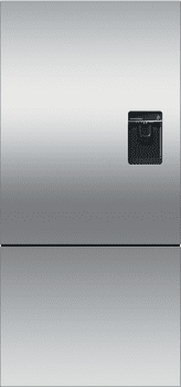 Fisher & Paykel Active Smart RF170BPUX6 - Fisher & Paykel ActiveSmart Refrigerator in Stainless Steel with Side Pocket Handle and External Water Dispenser