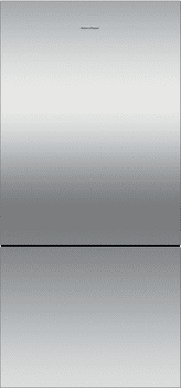 Fisher & Paykel Active Smart RF170B6 - Fisher & Paykel ActiveSmart Refrigerator in Stainless Steel with Side Pocket Handle