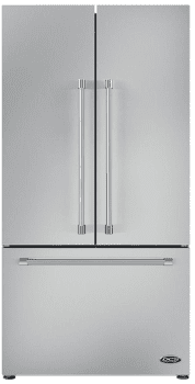 "DCS ActiveSmart Series RF201ACJSX1 - 36"" French Door Refrigerator with 20.1 cu. ft. Capacity"
