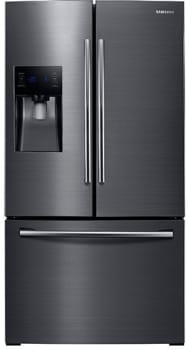 Samsung RF263BEAESG - 24.6 cu. ft. French Door Refrigerator - Front View