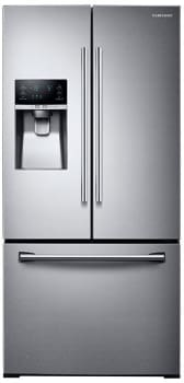 "Samsung RF26J7500SR - 33"" Wide, 26 cu. ft. Capacity 3-Door French Door Refrigerator with CoolSelect Pantry"