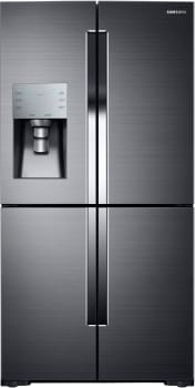 Samsung RF28K9070SG - Samsung's 28 cu. ft. 4-Door Flex Refrigerator in Black Stainless Steel - RF28K9070SG