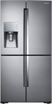 "Samsung RF28K9380SR - 36"" 4-Door Flex Refrigerator with 28 cu. ft. Capacity and Food Showcase Door"