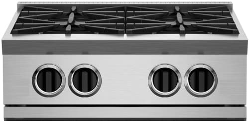 "BlueStar RGTNB Series RGTNB244BV2 - 24"" RNB Rangetop with 4 Open Burners"