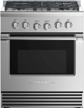 Fisher & Paykel Professional RGV2304LN - Front View