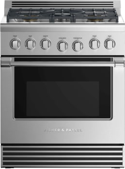 Fisher & Paykel Professional RGV2305NN - Front View