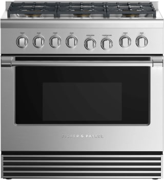 Fisher & Paykel Professional RGV2366NN - Front View