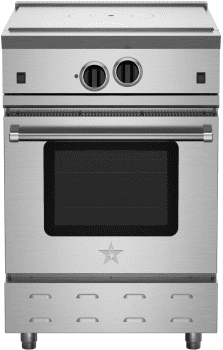 "BlueStar RNB Series RNB24FTV2 - 24"" Freestanding French Top Gas Range"