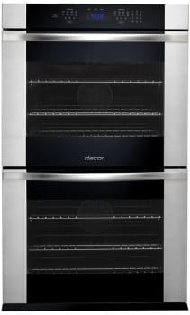 Dacor Renaissance RNOV230B - Black with Stainless Steel Trim