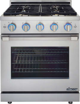 "Dacor Renaissance RNRP30GSLPH - Dacor's Renaissance 30"" Self-Cleaning Gas Range"
