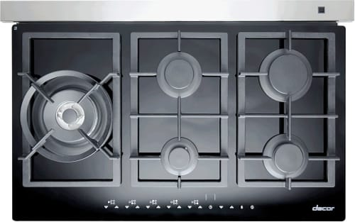 Dacor Renaissance RNTT365GBNG - Dacor Glass Cooktop with 40,500 BTU's