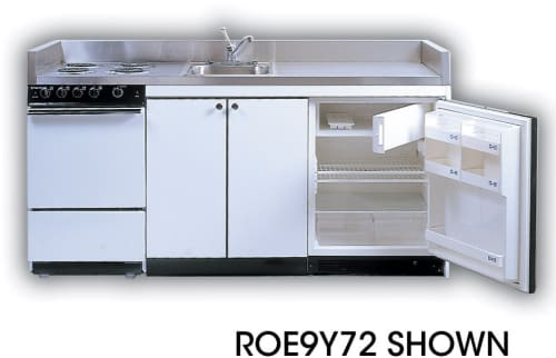Acme Full Feature Kitchenettes ROE9Y96 - 72 in.