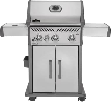 Napoleon Rogue Series R425SIBNSS - Napoleon Rogue Series Gas Grill with Infrared SIZZLE ZONE Side Burner