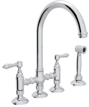 Rohl Country Kitchen Collection A1461LMWSSTN2 - Polished Nickel Model Shown Here