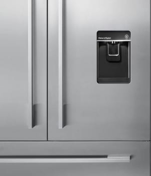 "Fisher & Paykel RD3680U - 80"" Cabinet EZKleen Stainless Steel Door Panel/Handle Kit with Dispenser Cut-Out"