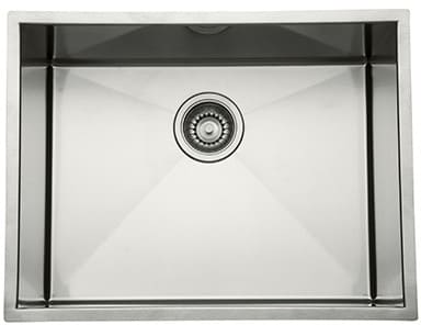 Rohl RSS2115SB - Single Bowl Stainless Steel Undermount Kitchen Sink