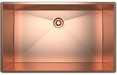Rohl RSS3018SC - Stainless Copper Sink
