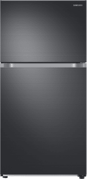 Samsung RT21M6213X - Black Stainless Steel Front View