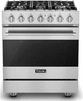 Viking 3 Series RVDR33025B - Stainless Steel (Shown with Optional Backguard)
