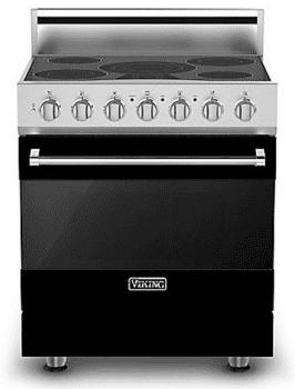 Viking 3 Series RVER33015BBK - Black (Shown with Optional Backguard)