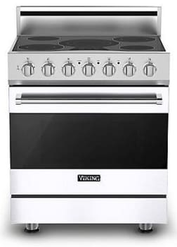 Viking 3 Series RVER33015BWH - White (Shown with Optional Backguard)