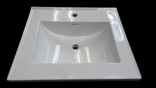 Empire Industries Seville Collection S3122W1 - Seville Collection Ceramic Sink