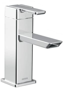Moen 90° S6700HC - Chrome with red/blue-hot/cold labeling
