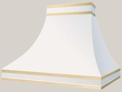 Prizer Hoods Sahara Curved Sides Series SACS48SS - Sahara Curved Sides Wall Mounted