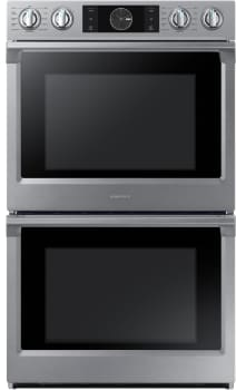 Samsung NV51K7770DS - 28 Inch Double Wall Oven from Samsung