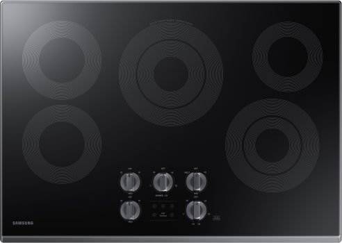 Samsung NZ30K6330R - 5-Burner Electric Cooktop with Black Trim