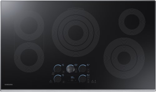 Samsung NZ36K7570R - 36 Inch Electric Cooktop from Samsung with Stainless Steel Trim