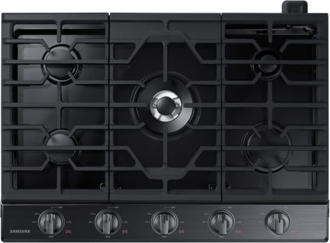 Samsung NA30K6550TG - Gas Cooktop with 5 Burners from Samsung with Black Trim