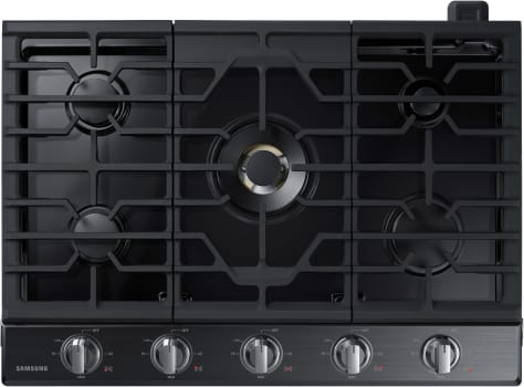 Samsung NA30K7750T - 5-Burner Gas Cooktop from Samsung in Black