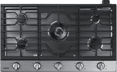 Samsung NA36K6550TS - 5-Burner Gas Cooktop from Samsung in Stainless Steel