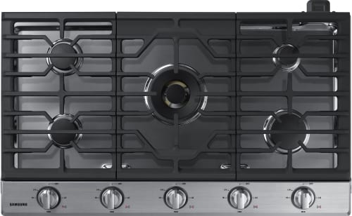 Samsung NA36K7750TS - 5-Burner Gas Cooktop from Samsung in Stainless Steel