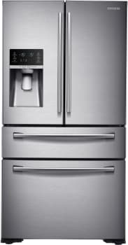Samsung RF30KMEDB - 30 cu. ft. 4 Door French Door Refrigerator in Stainless Steel