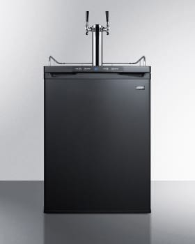 Summit SBC635MBITWIN - Beer Dispenser in Black