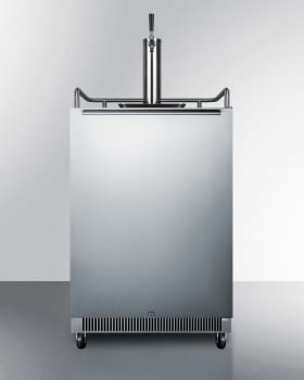 "Summit SBC677BI1 - 24"" Built-in Single Tap Beer Dispenser with Stainless Steel Horizontal Handle"