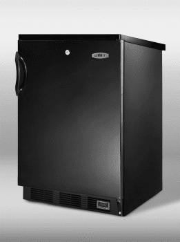 Summit Commercial Series SCFF55LBLFROST - Black