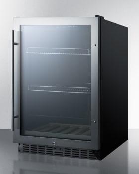 Summit SCR2466 - Black Cabinet