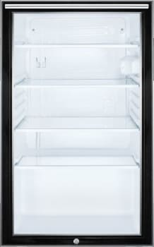 Summit SCR500BL7HH - Summit's Commercial Series Glass Door Refrigerator with Horizontal Handle