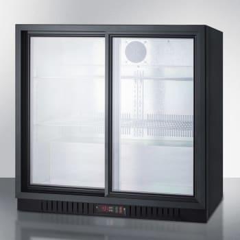 Summit SCR700B - Black Cabinet