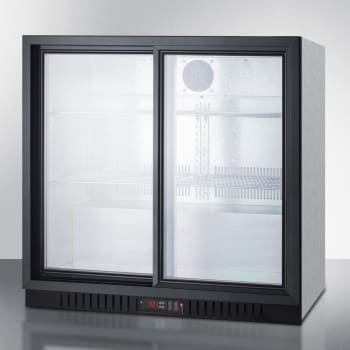 Summit SCR700BCSS - Stainless Steel Cabinet