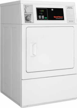 "Speed Queen SDEBCAGS171TW01 - 27"" Micro Display Commercial Single Load Electric Dryer"