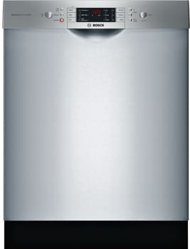 Bosch 800 Series SGE68U55UC - Bosch 800 Series Full Console Dishwasher with 6 Wash Cycles