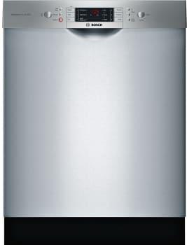 Bosch 800 Series SGE68U55UC - Bosch 800 Series Full Console Dishwasher with 6 Wash Cycles